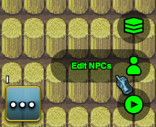 The NPC Editor Button