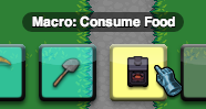 A Macro on the Action Bar