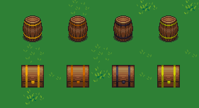 Chests and Barrels of Various Grades