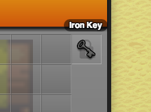 An Iron Key Used to Restrict Access
