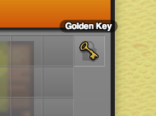 A Golden Key Used to Restrict Access