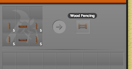 Crafting a Fence Section